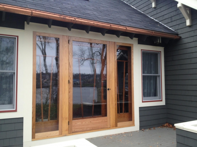 House remodel on Belfast waterfront